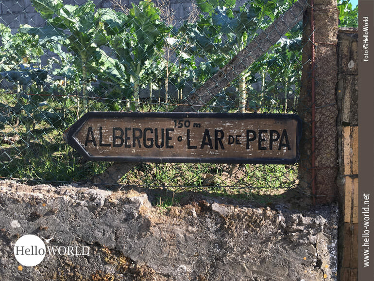 Das heutige Etappenziel des Camino Portugues ist nahe